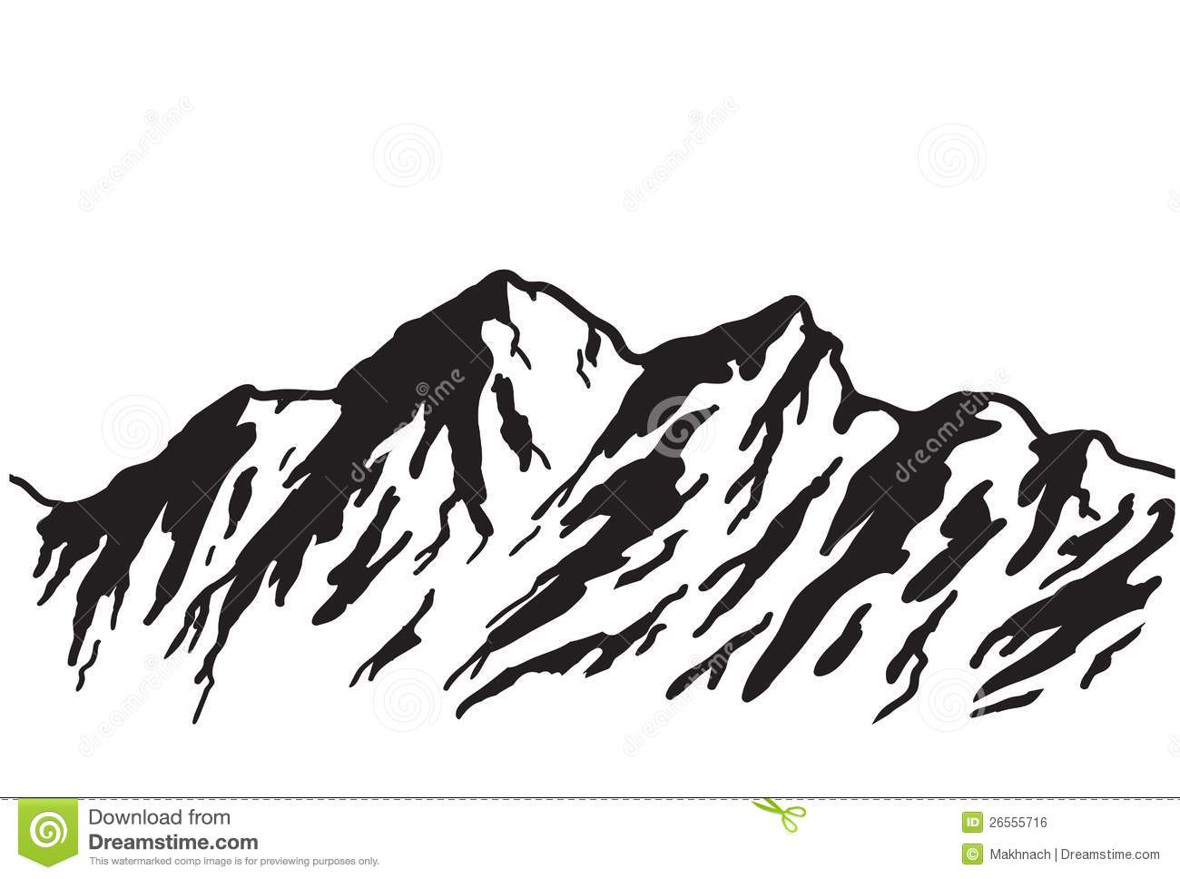 High clipart mountain slope. Silhouette at getdrawings com