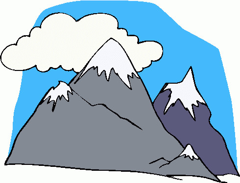 High clipart mountain slope. Collection of snowy