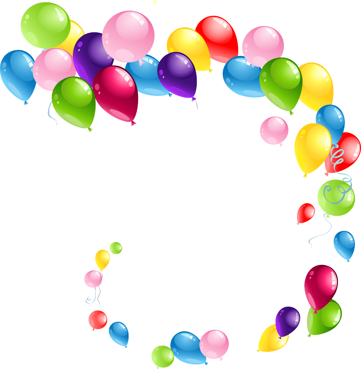 High definition balloons png
