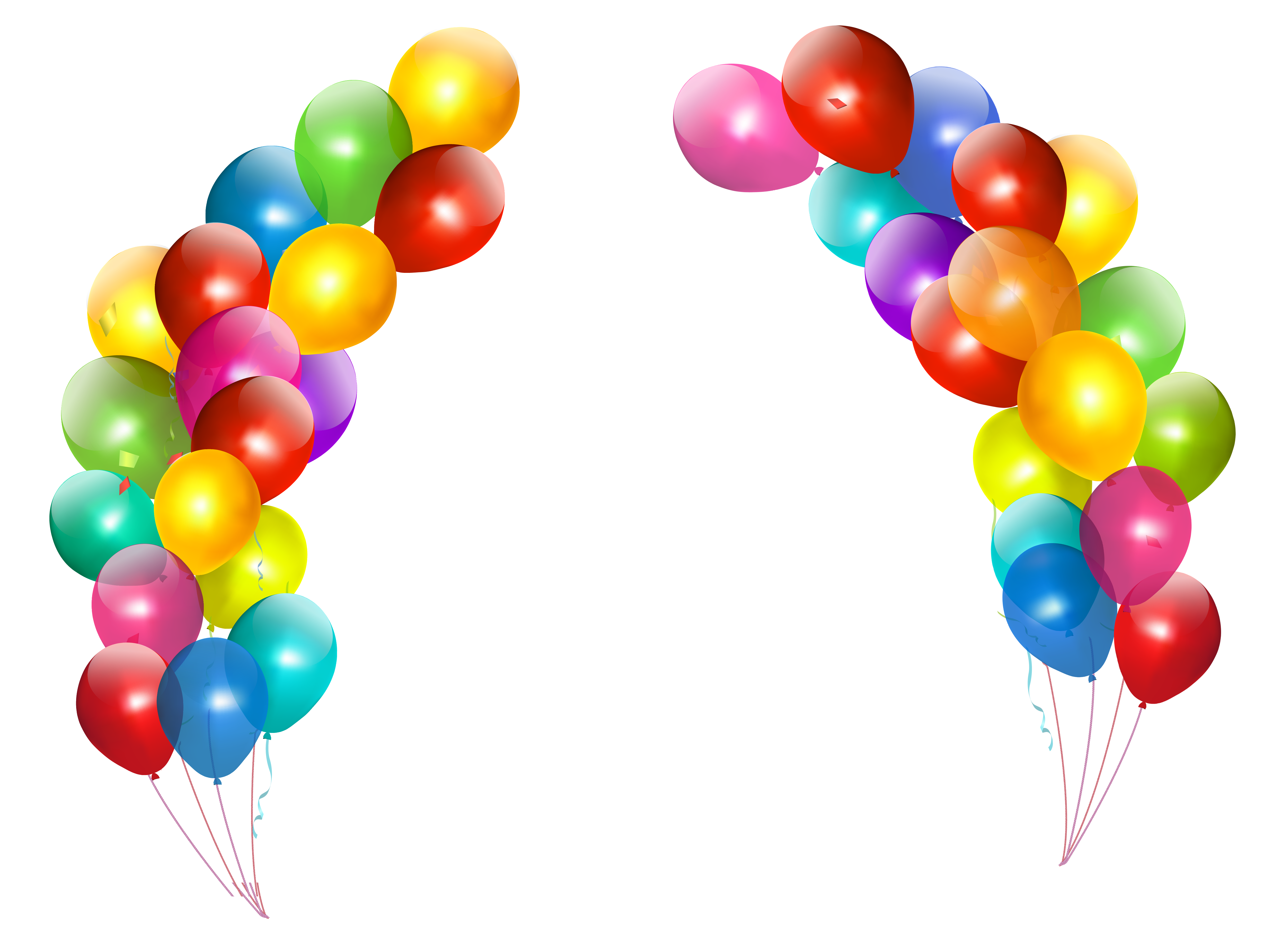 High definition balloons png. Free photo smooth white