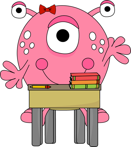 High five clipart pink. Monster at getdrawings com
