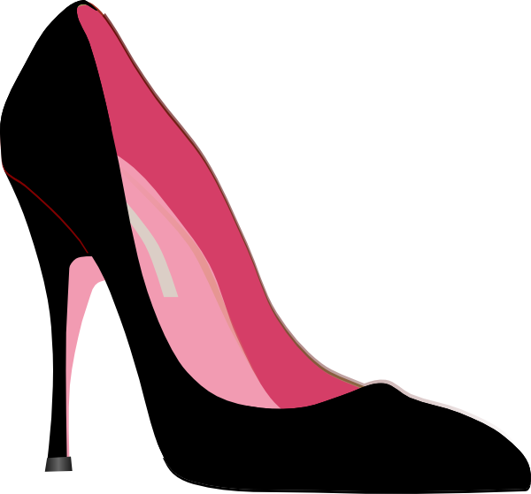 High heel clipart.