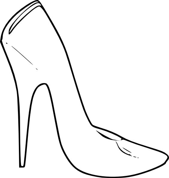 High heel clipart des. Best shoe decorations