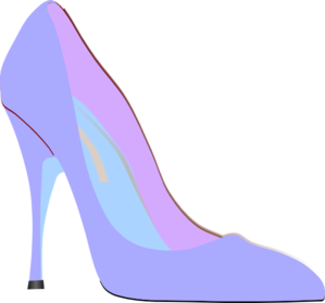 High heel clipart fancy. Purple clip art at