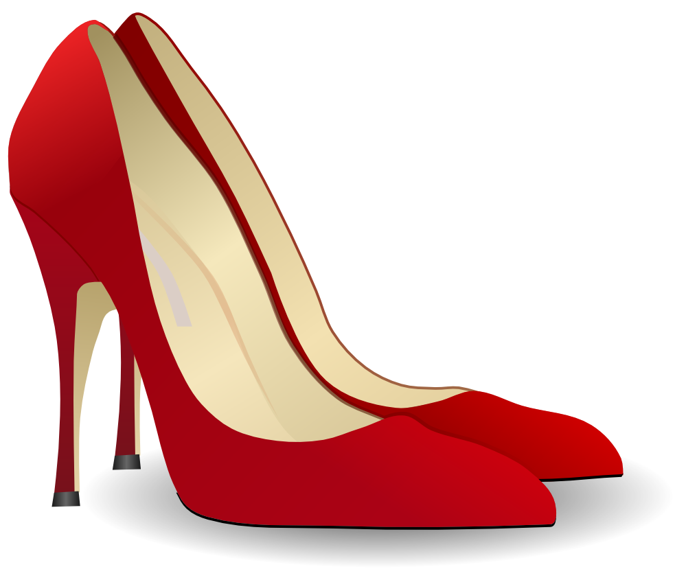 High heel clipart pretty shoe. Black and white google