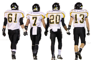 High school football player png. Image related wallpapers