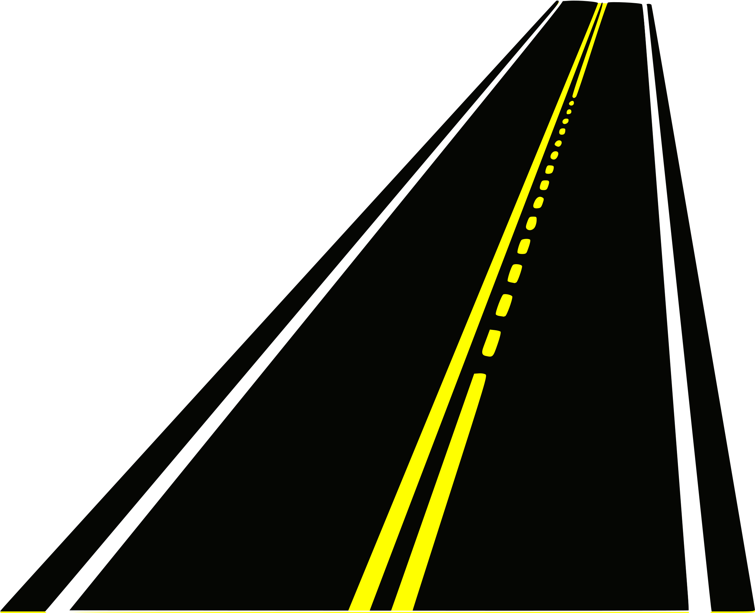 highway clipart curved road