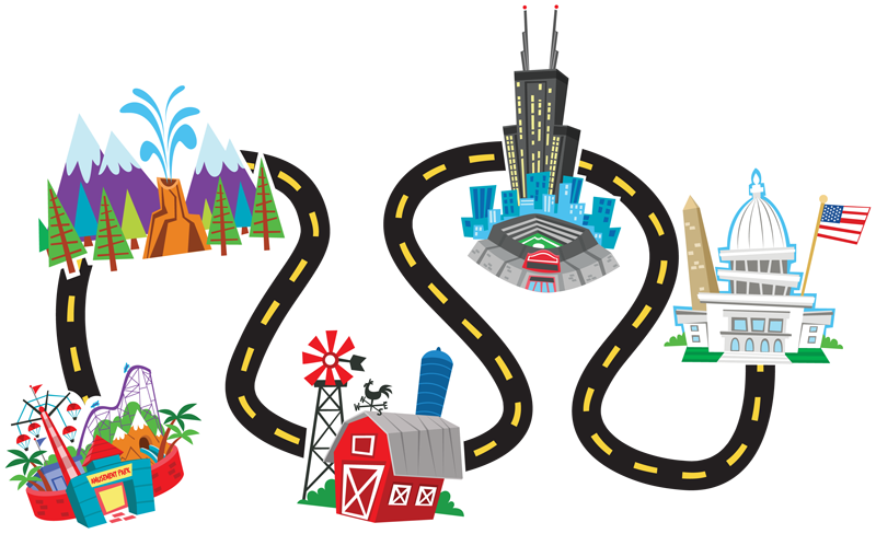 Map clipart city planning. Free journey cliparts download