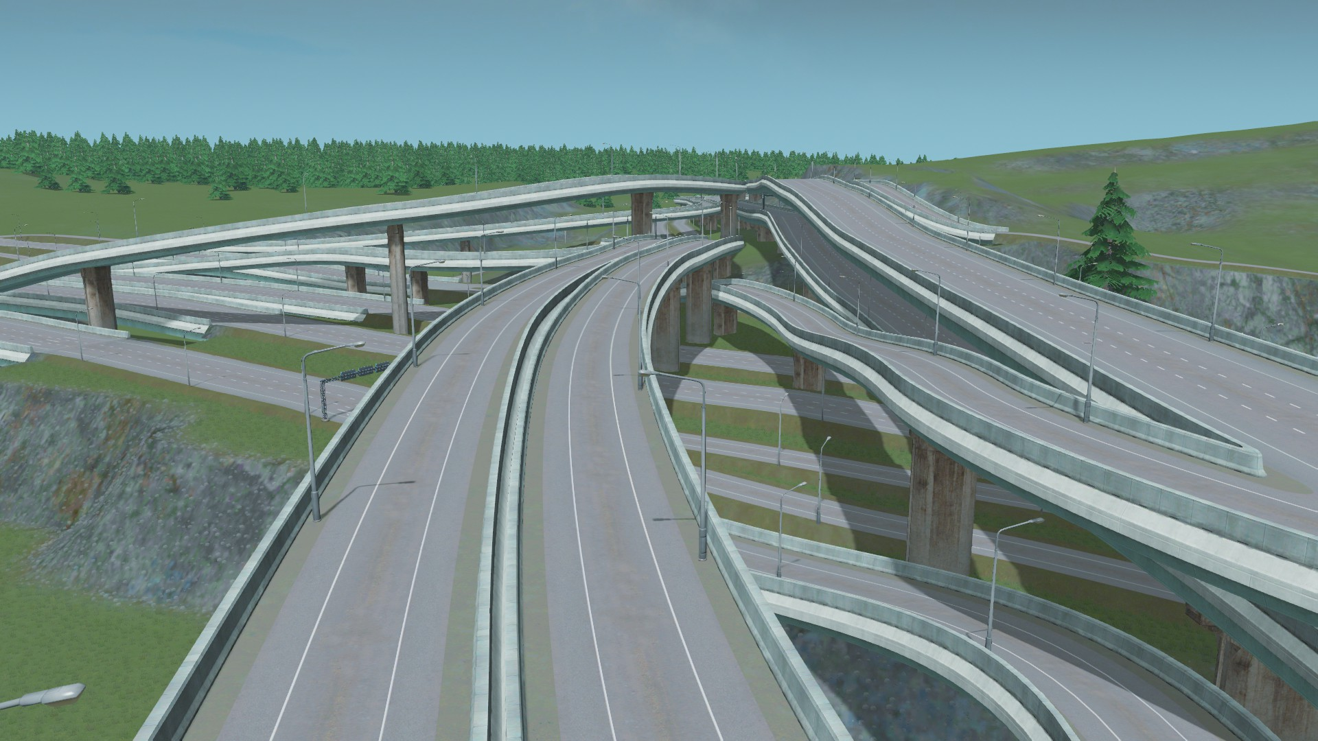 Highway clipart smooth road. Show us your interchanges
