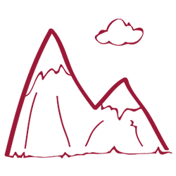 Hike clipart mountain man. Five hikes to tyrolean