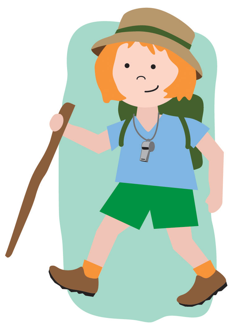 Hiker clipart i m. Hiking with kids have