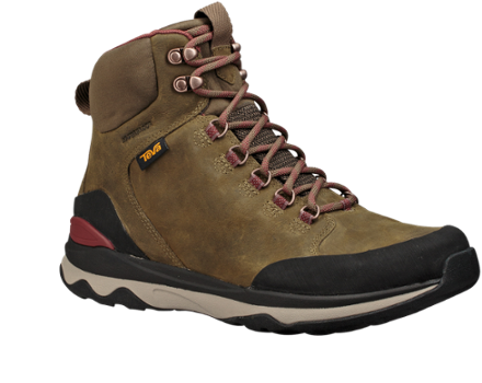 Teva arrowood utility tall. Transparent boot shoe svg royalty free library