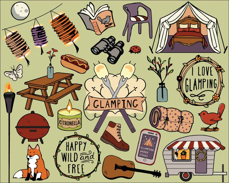 Hiking clipart camping. Best and images