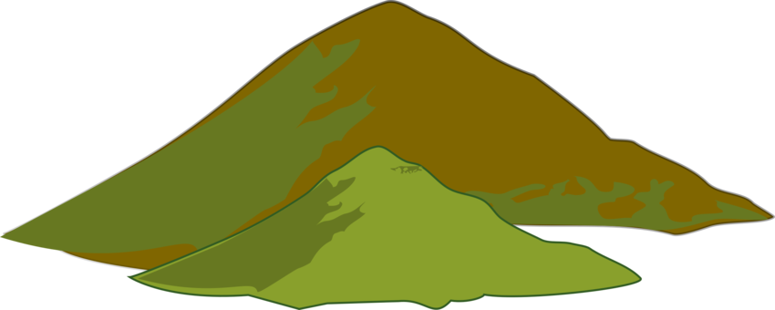 Volcanoes drawing volcanic mountain. Range download collage free