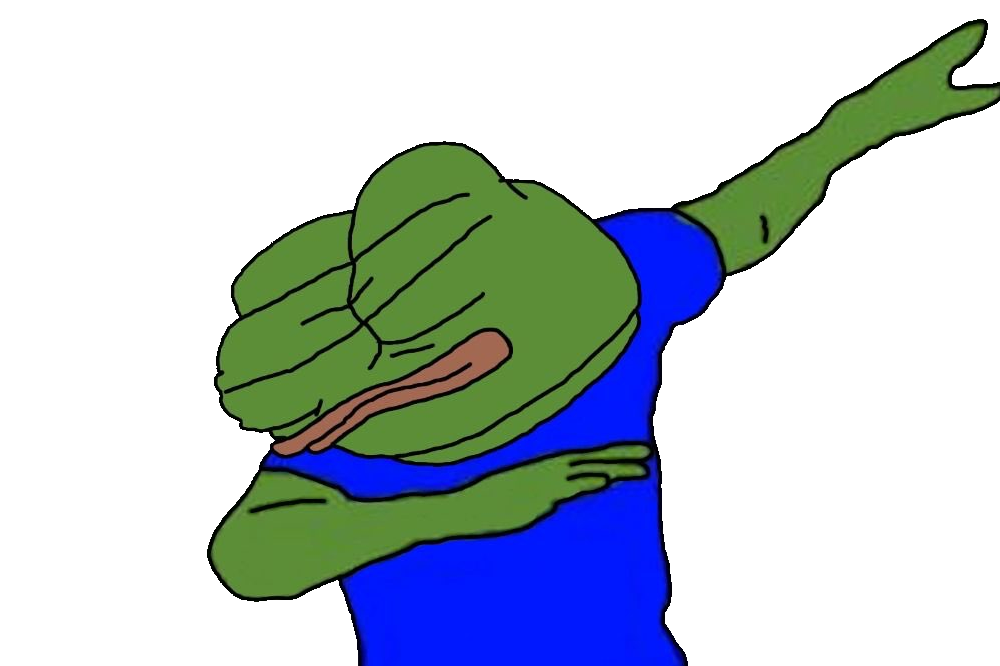 Hillary dab png