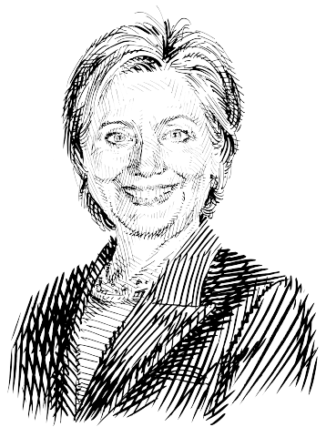Hillary drawing line. File clinton png wikimedia