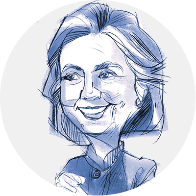 Hillary drawing cartoon. Your guide to clinton