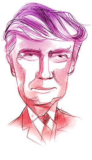 Hillary drawing profile donald trump. Who is