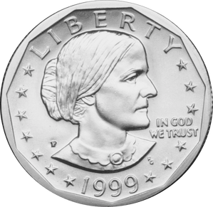 Hillary drawing susan b anthony. Dollar obverse coin collectors