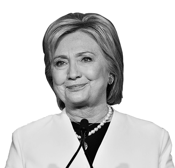Hillary transparent invisible. Tracking the presidential money