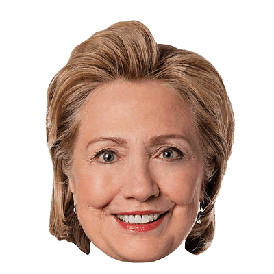 Hillary face png. Clinton images free download