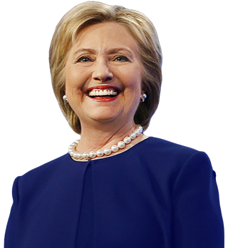 Hillary transparent background. Clinton png