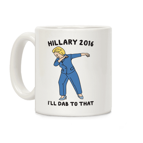 Hillary transparent dab. Collection lookhuman funny pop