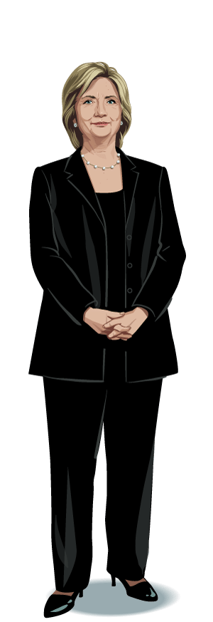 Hillary transparent full body. Clinton png images free