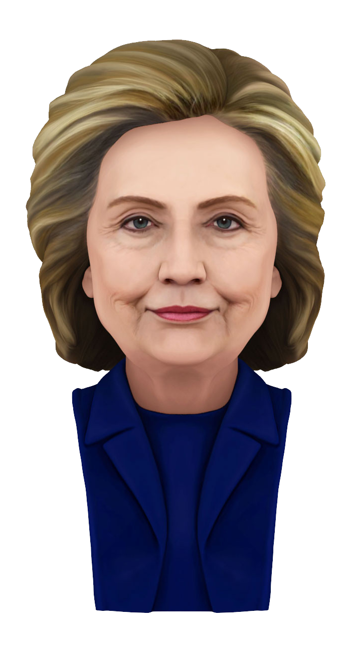 Hillary transparent hair. Clinton png images free