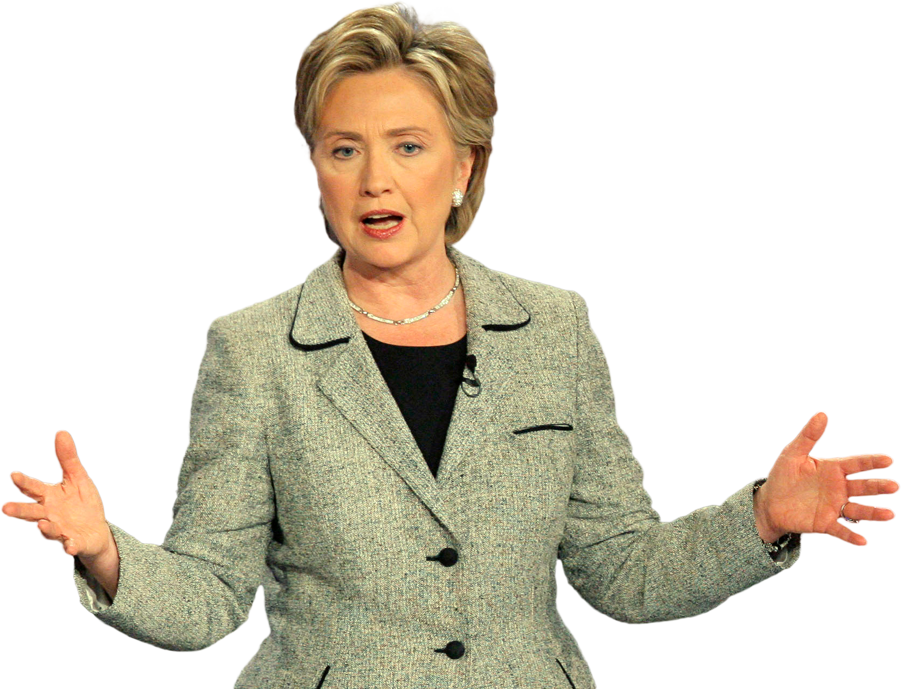 Hillary transparent invisible