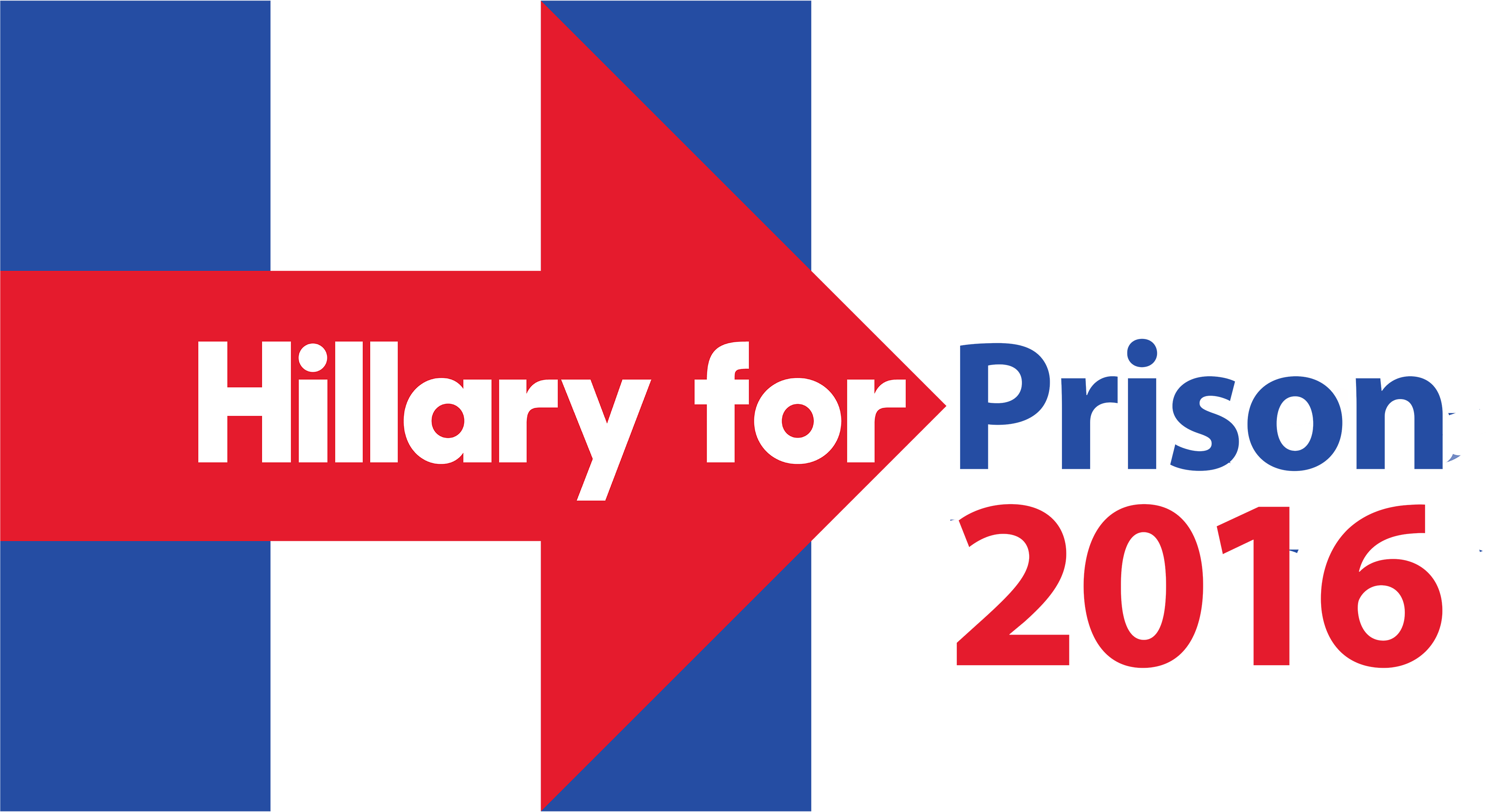 Hillary transparent logo 2016. Just not