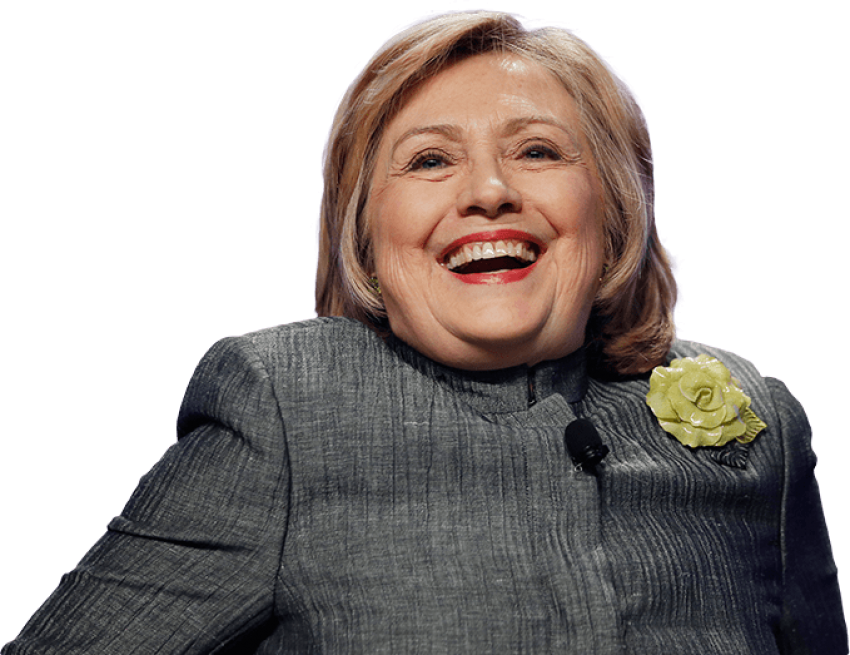 Hillary transparent tooth. Clinton png images free