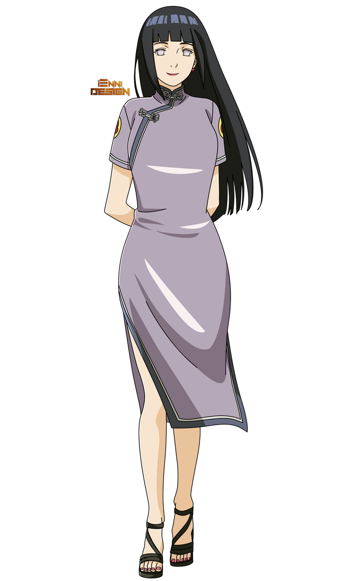 Hinata transparent chinese dress. Clothing hyuuga by iennidesign