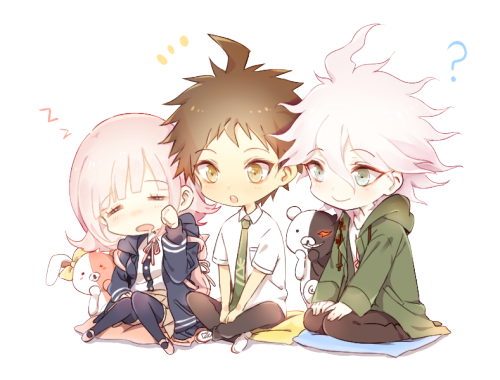 Hinata transparent komaeda. Bikes make me happy
