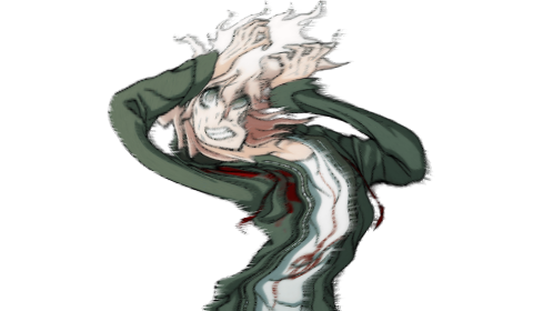 Hinata transparent komaeda. Komaedaoclock i said you