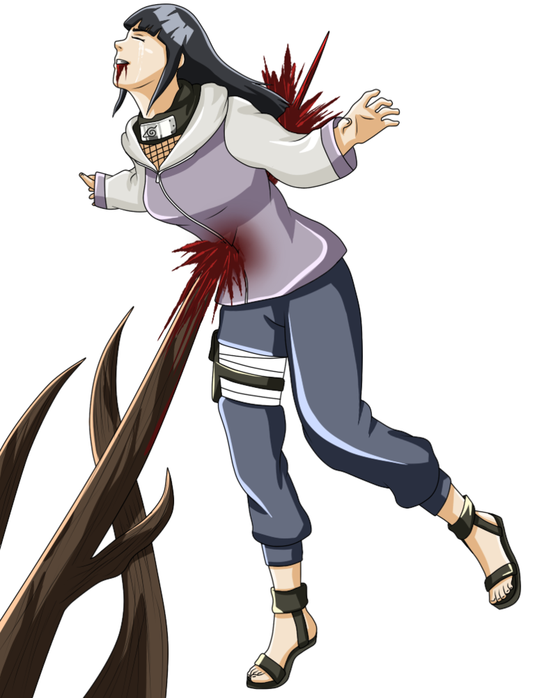 Hinata transparent small. S death by jeca