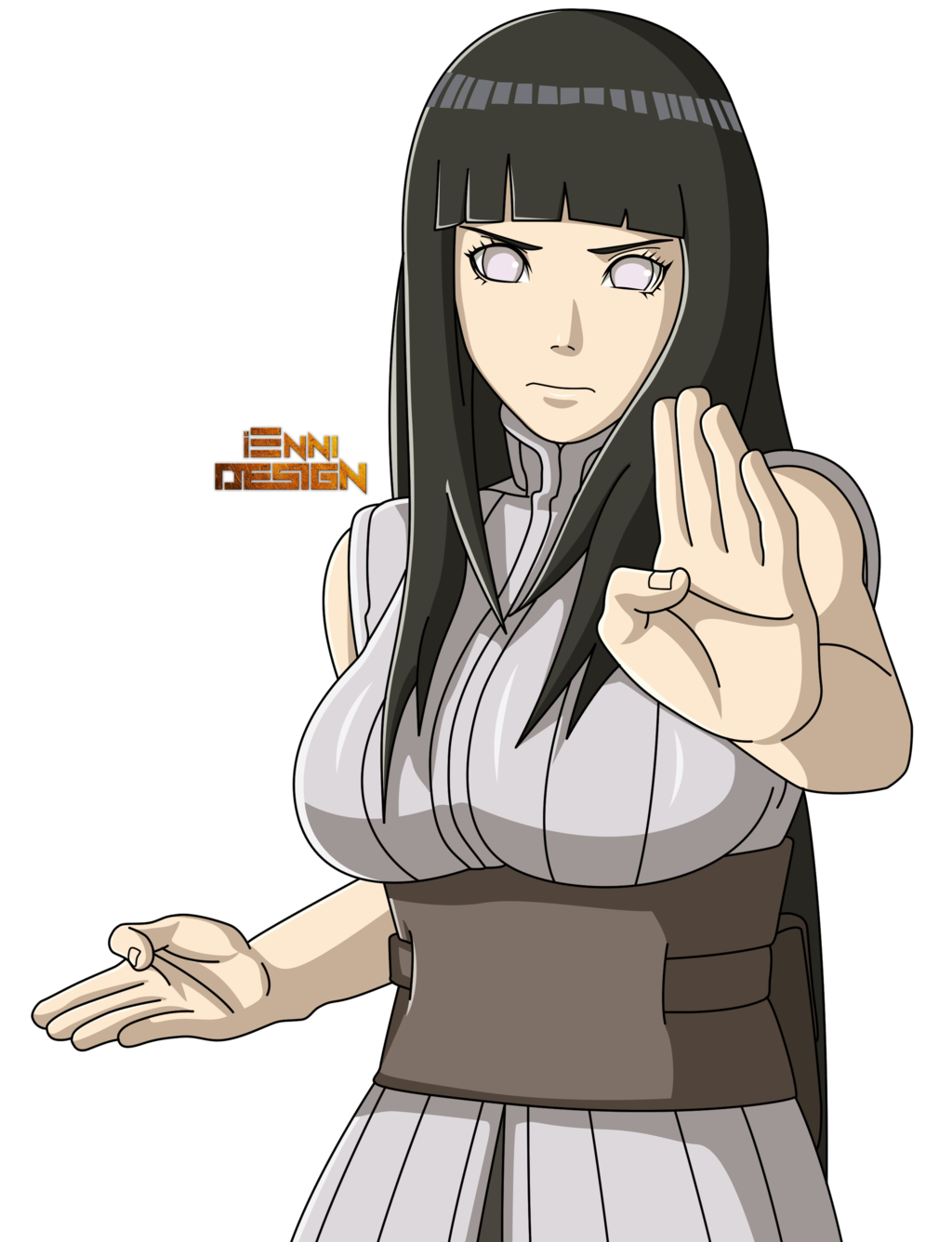 Hinata transparent chinese dress. The last naruto movie
