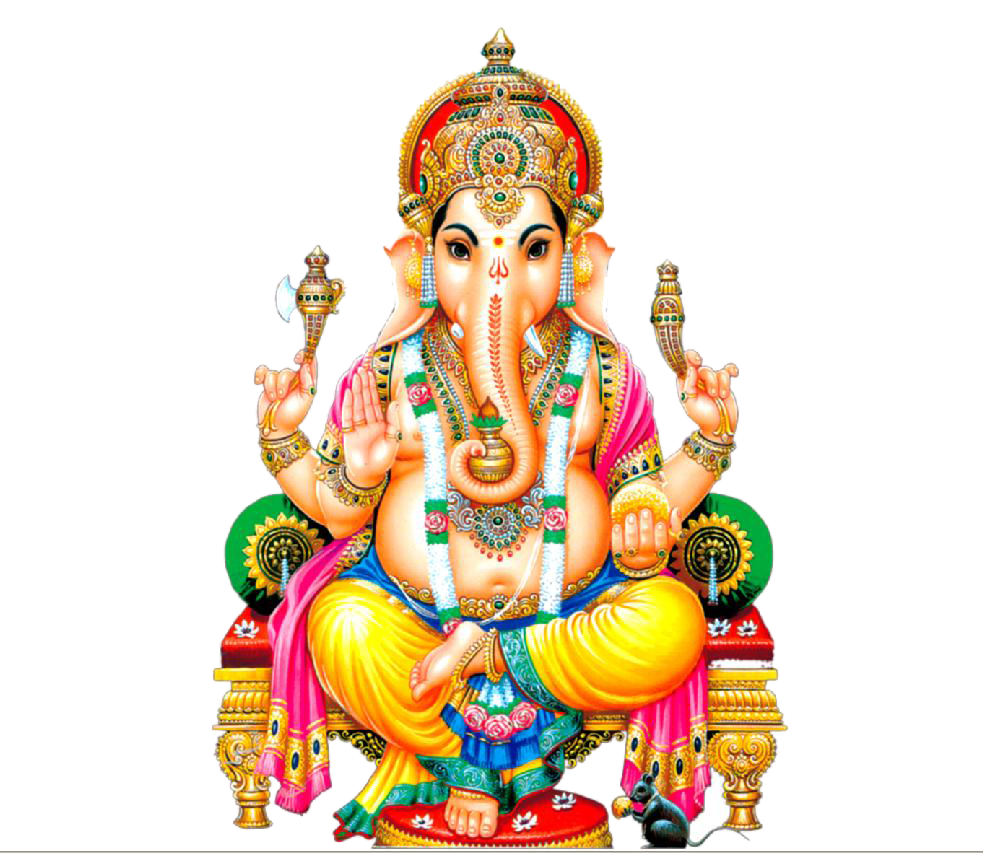 Transparent god ganapathi. Hinduism png images free