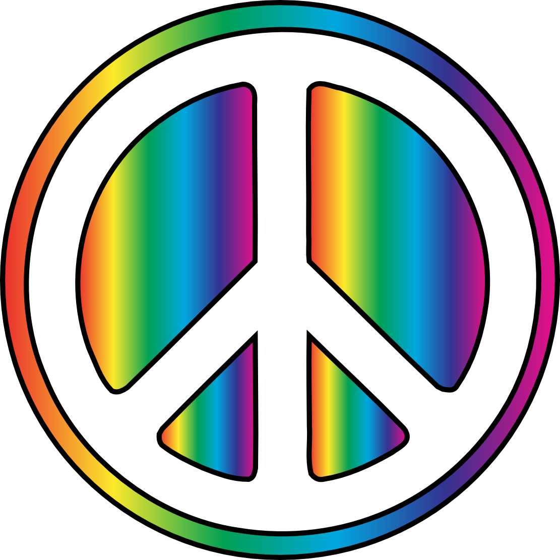 Peace clipart non violence. Free hippie cliparts download