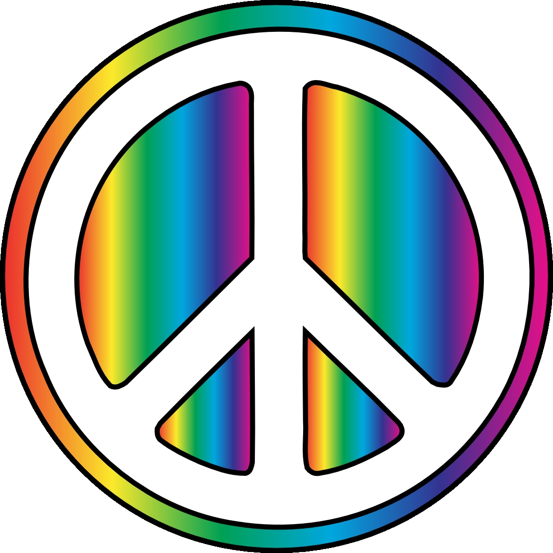 Hippie clipart. Awesome design digital collection