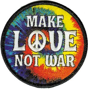 Hippie clipart make love not war. Best images on