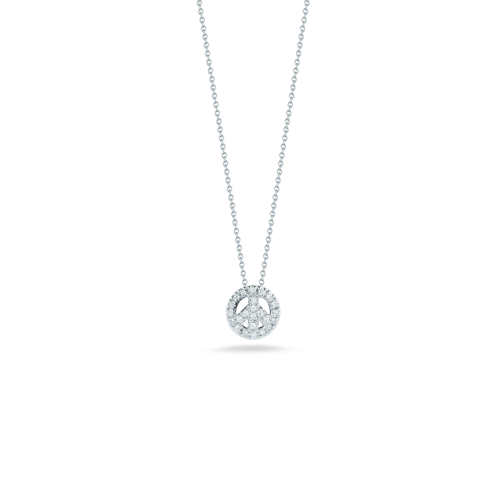 peace sign necklace png