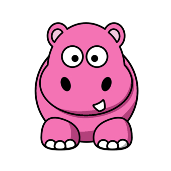 Hippopotamus clipart animated. Free hippo picture hanslodge