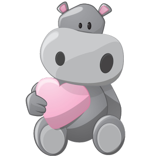 Hippopotamus clipart girl hippo. Clip art grey cartoon
