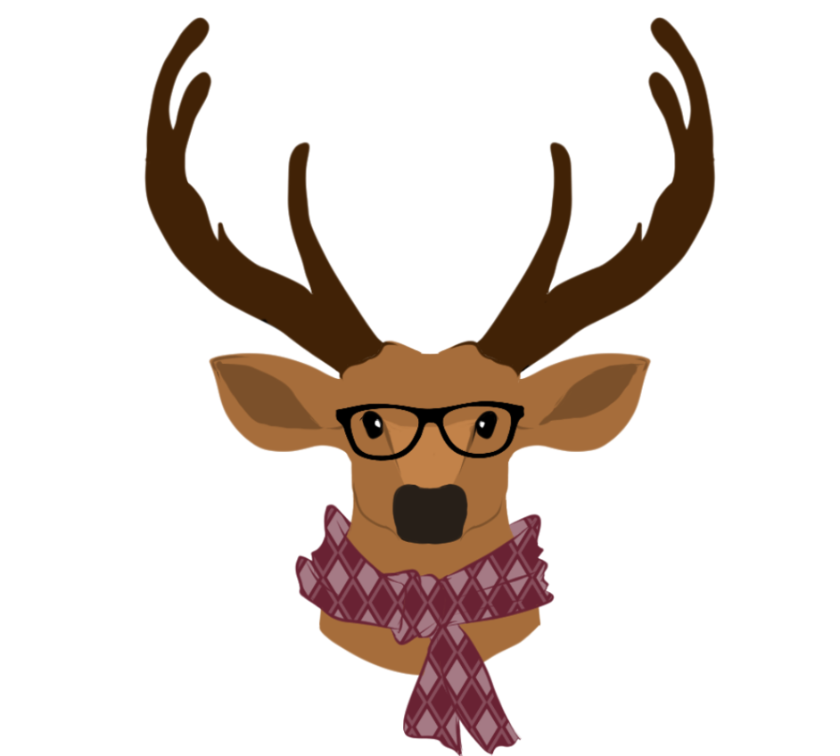 Hipster antlers png. Commission deer by laikendesignz