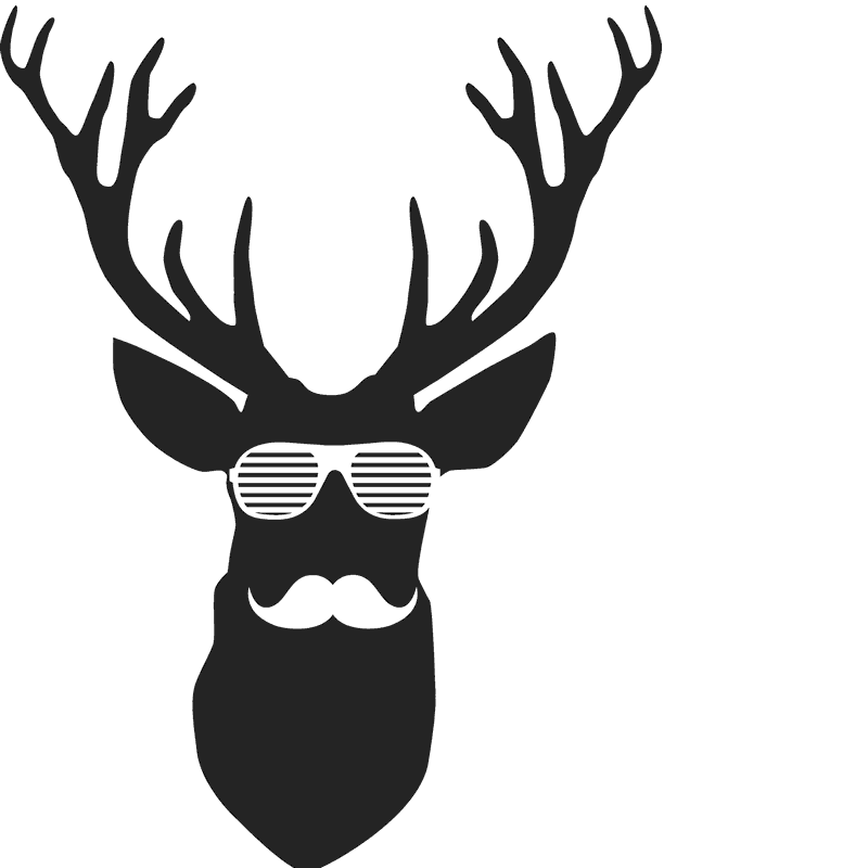 hipster antlers png