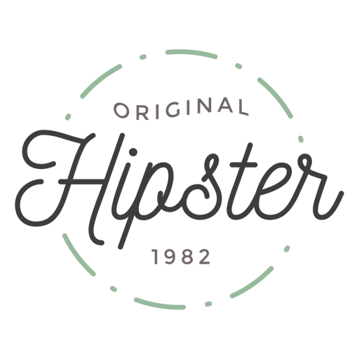 Hipster badge png. Logo transparent svg vector