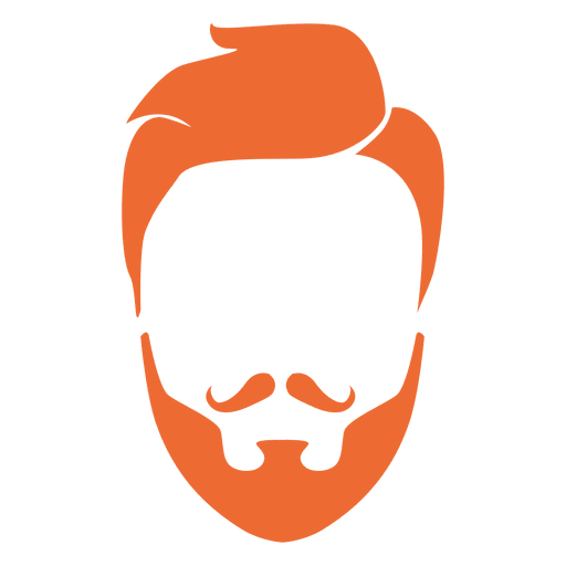 Rudolph vector cute baby. Hipster man beard and