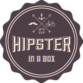 Hipster transparent box. In a hipsterboxes twitter