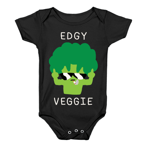 Hipster transparent edgy. Baby onesies lookhuman veggie
